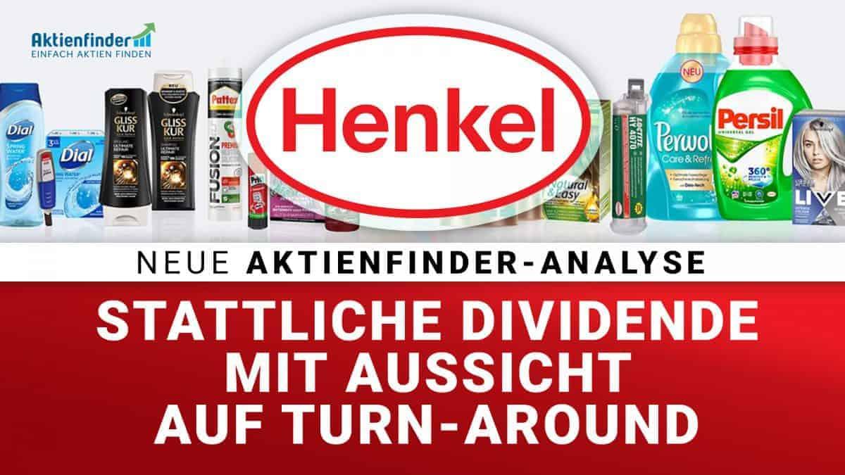 Henkel Aktie - Stattliche Dividende mit Aussicht auf Turn Around