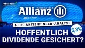 Allianz Aktie - Hoffentlich Dividende gesichert