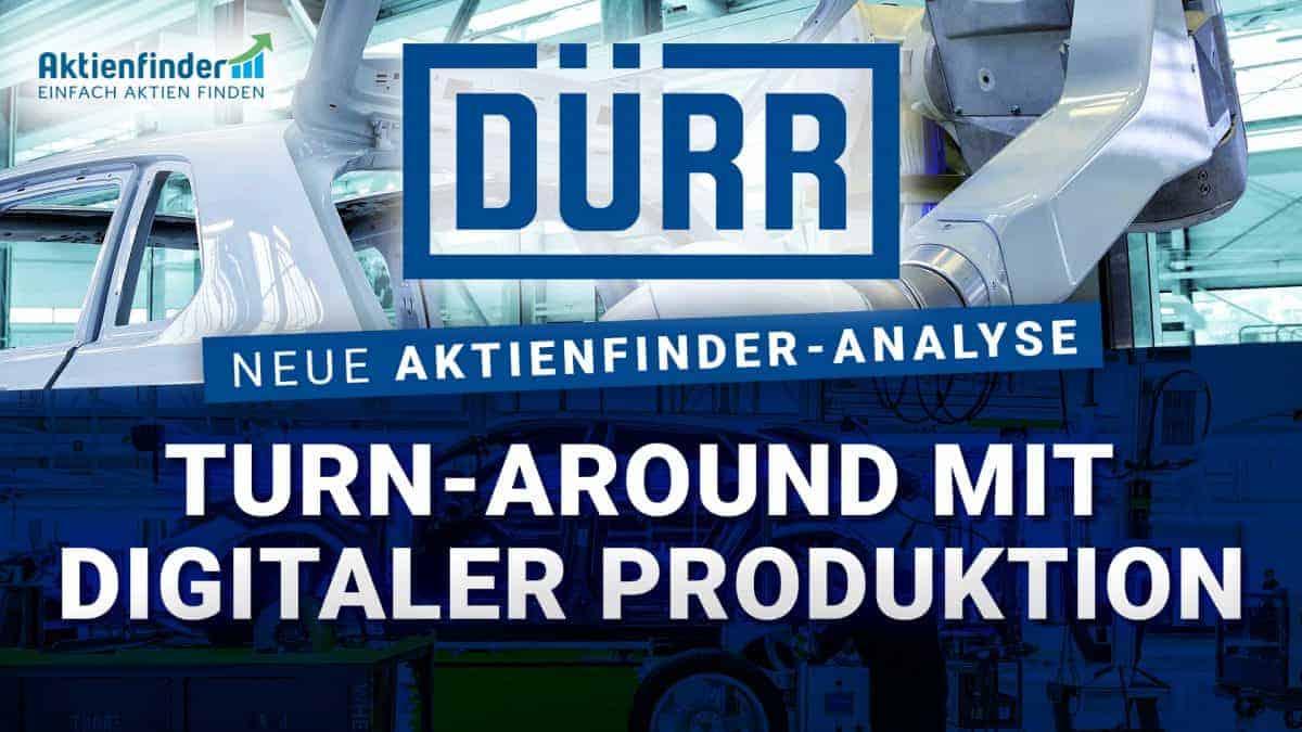 Dürr Aktie - Turn Around mit digitaler Produktion