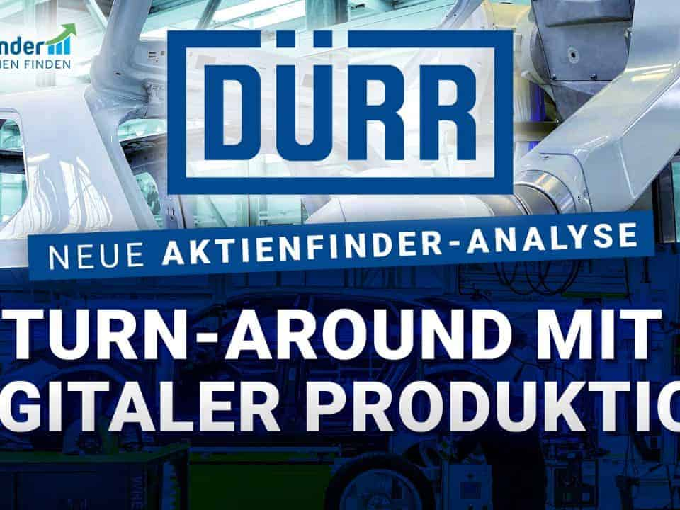 Dürr Aktie - Turn Around mit digitaler Produktion