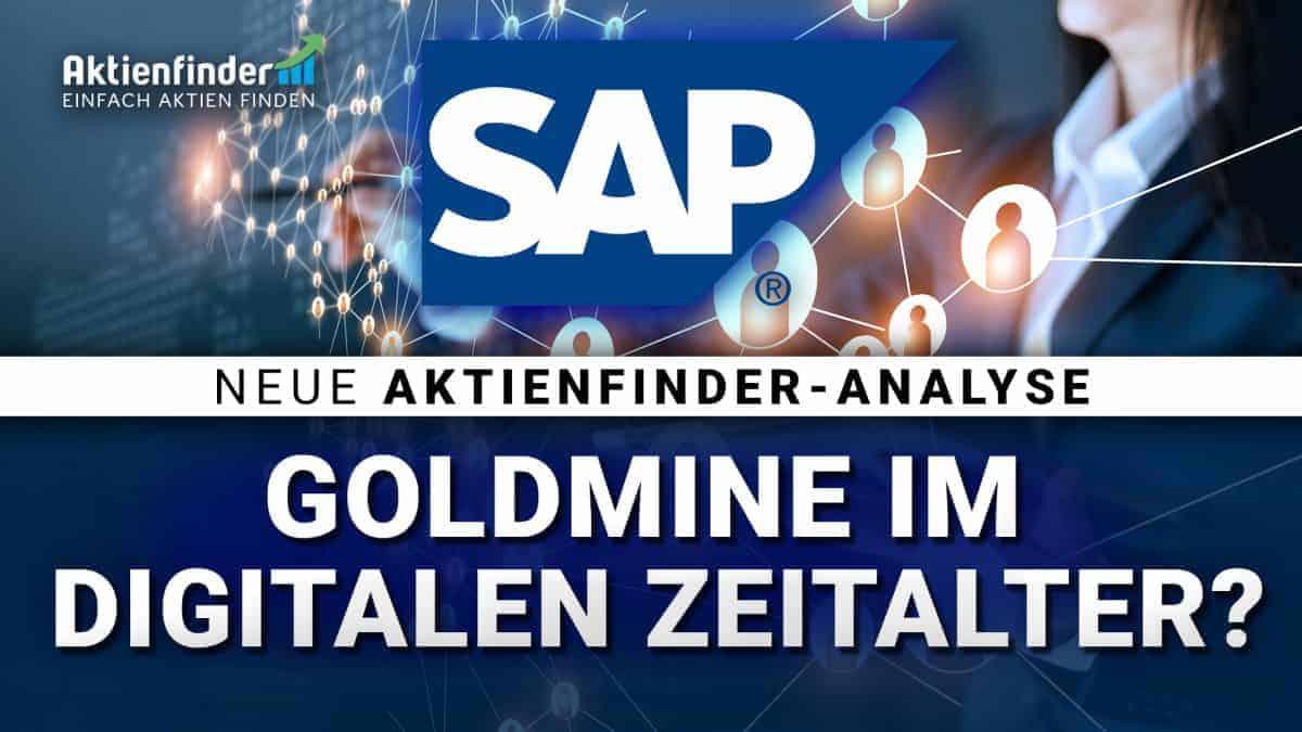 SAP Aktie - Goldmine im digitalen Zeitalter
