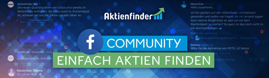 Die Aktienfinder-Facebook Community