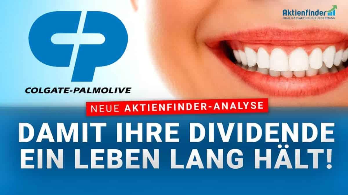 Colgate-Palmolive Aktie - Damit Ihre Dividende ein Leben lang haelt