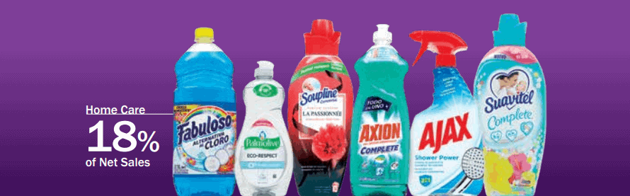 Colgate-Palmolive Home Care products