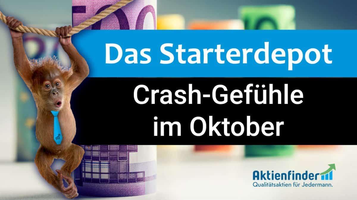 Das Starterdepot - Crash-Gefühle im Oktober