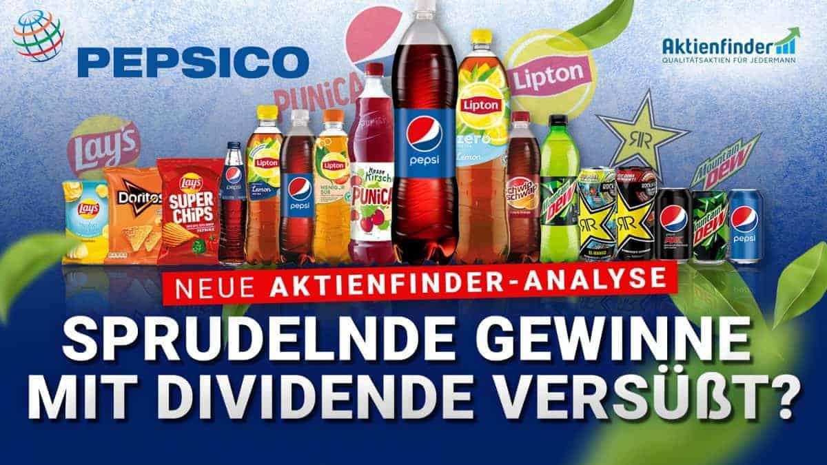 Pepsi Aktie - Sprudelnde Gewinne mit Dividende versuesst