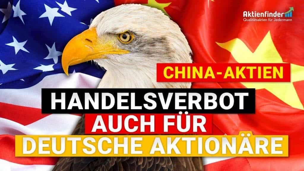 China Aktien - Handelsverbot auch für deutsche Aktionäre