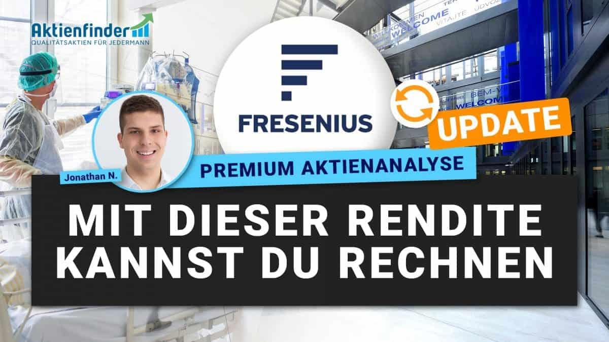 Fresenius Aktie - Mit dieser Rendite kannst du rechnen - Update