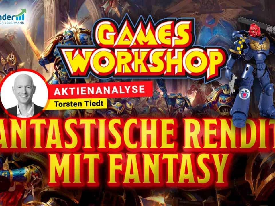 Aktie Games Workshop