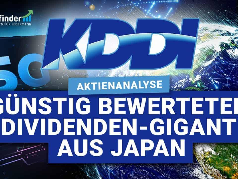KDDI Aktie - Guenstig bewerteter Dividenden-Gigant aus Japan