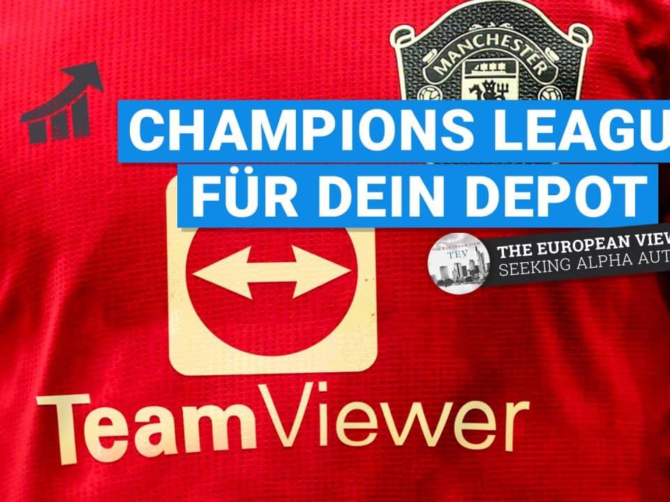 TeamVIewer Aktie -Champions League für dein´Depot