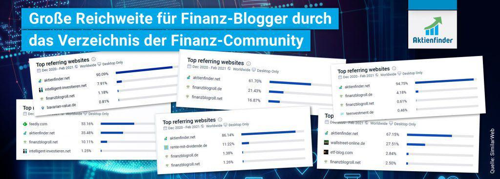 Traffic für Finanzblogger durch das Verzeichnis freier Aktienananalysen