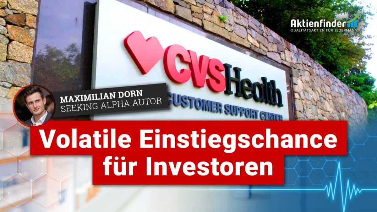 CVS-Health - Volatile Einstiegschance für Investoren