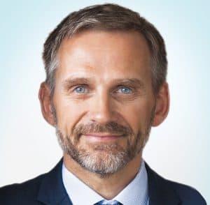 Abbildung 1 - CEO Jakob Siggurdson (© Coats Group plc 2021)