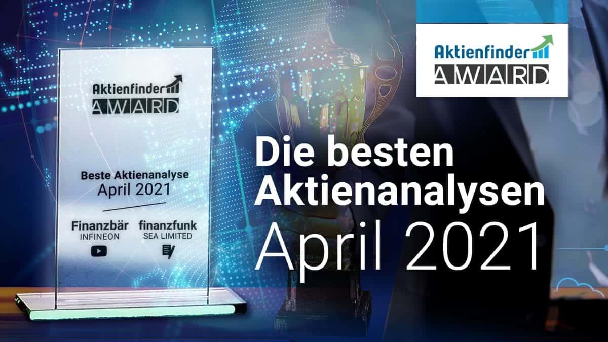 Der Aktienfinder-Award April 2021