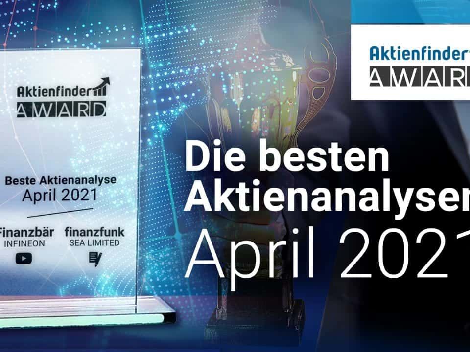 Der Aktienfinder-Award April 2021