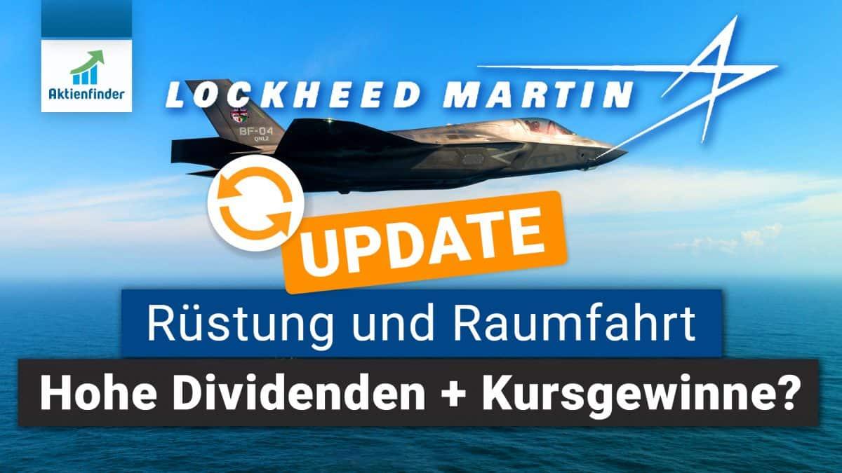 Lockheed-Martin Aktienanalyse Update