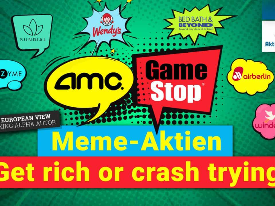 Meme Aktien - Get rich or crash trying