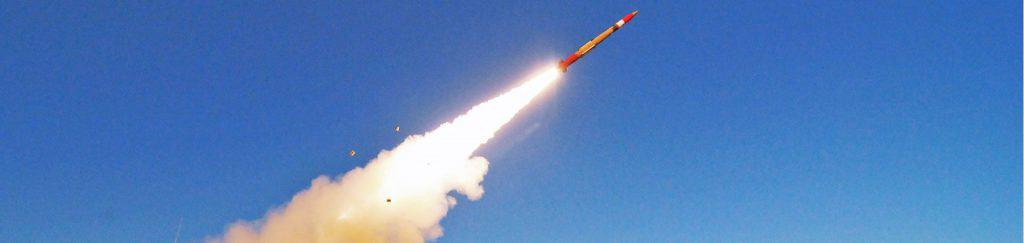 Abschuss einer Rakete von Lockheed Martin