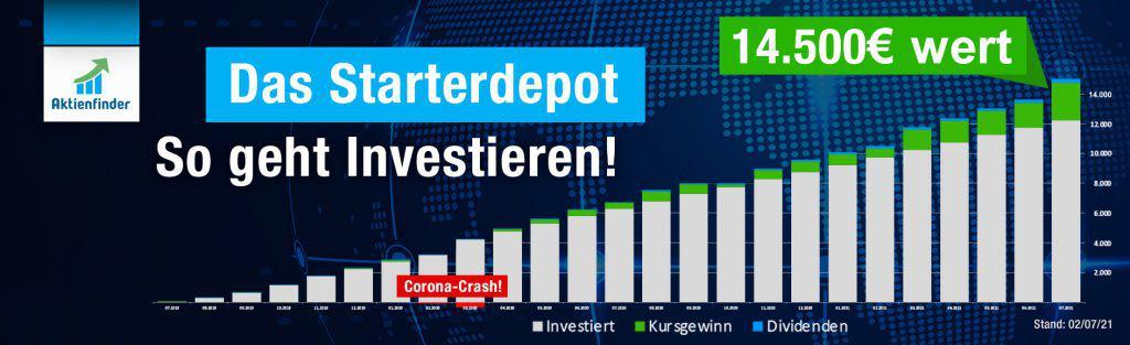 Das Starterdepot - Vermögensaufbau mit Dividenden-Aktien