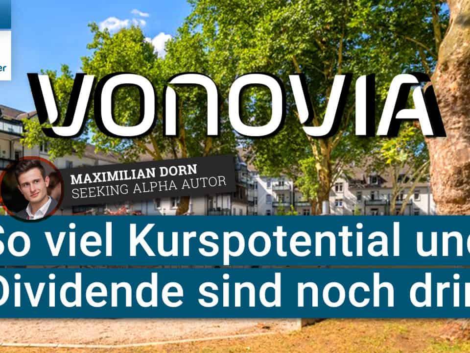 Vonovia Aktie - So viel Kurspotential und Dividende sind noch drin
