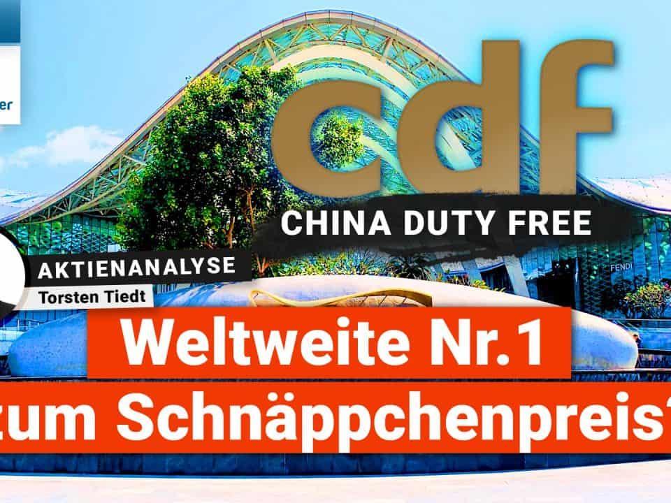 China Tourism Group Duty Free Aktienanalyse – Weltweite Nr.1 zum Schnäppchenpreis