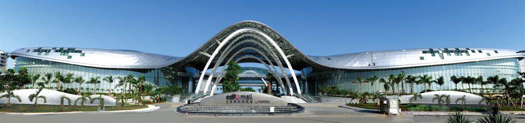 Der Sanya Inernational Duty Free Komplex in Hainan